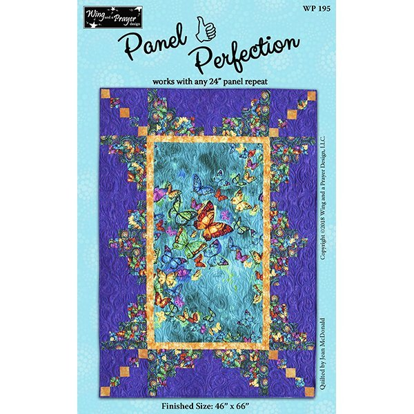 Panel Perfection Pavilion Throw Kit 46 x 66 includes pattern
