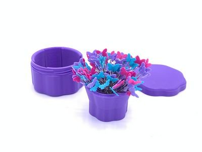 Magnetic Pin Cups - Lilac