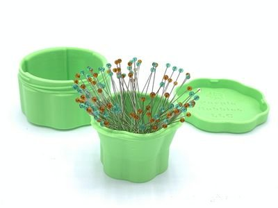 Magnetic Pin Cups - Light Green
