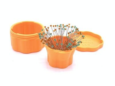 Magnetic Pin Cups - Orange