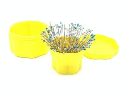 Magnetic Pin Cups - Yellow