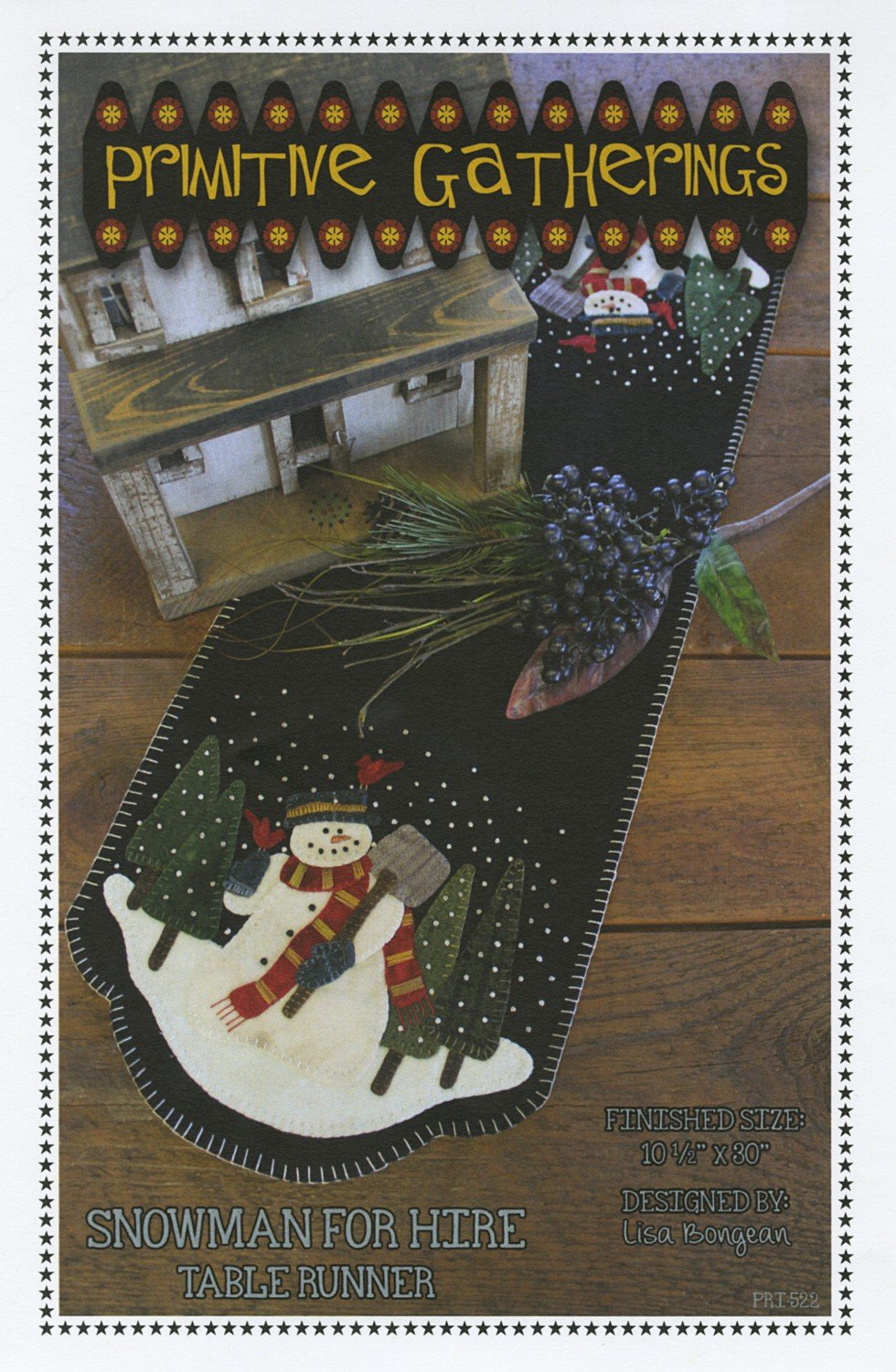 Snowman for Hire Pattern