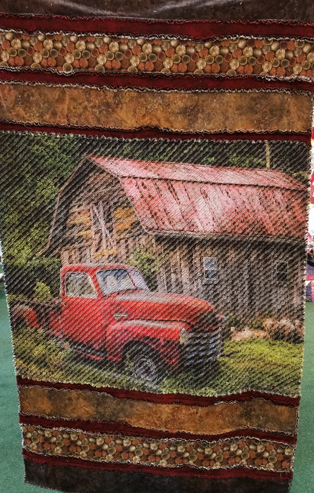Just Seams Chenilled - Pride and Courage Truck Kit