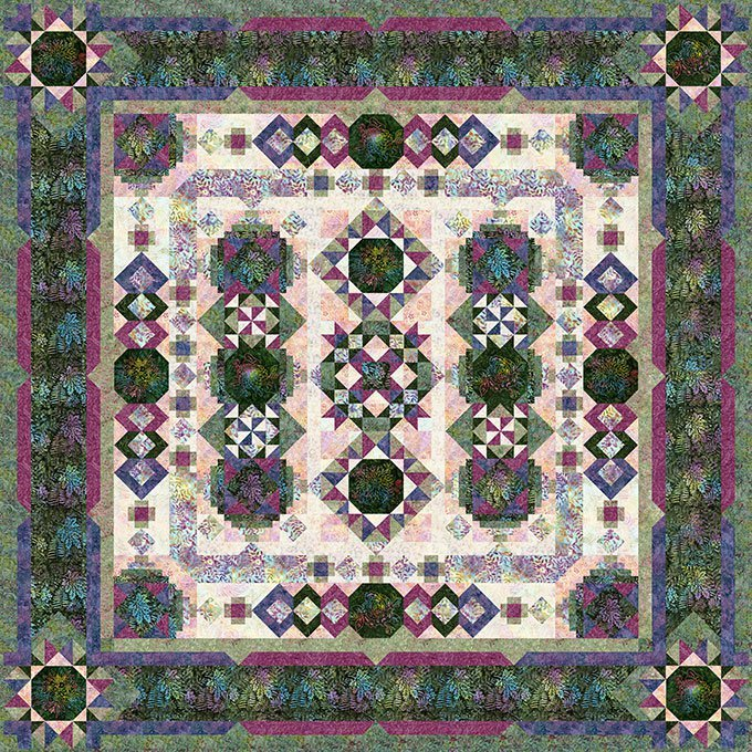 Blooming Fields Quilt Kit