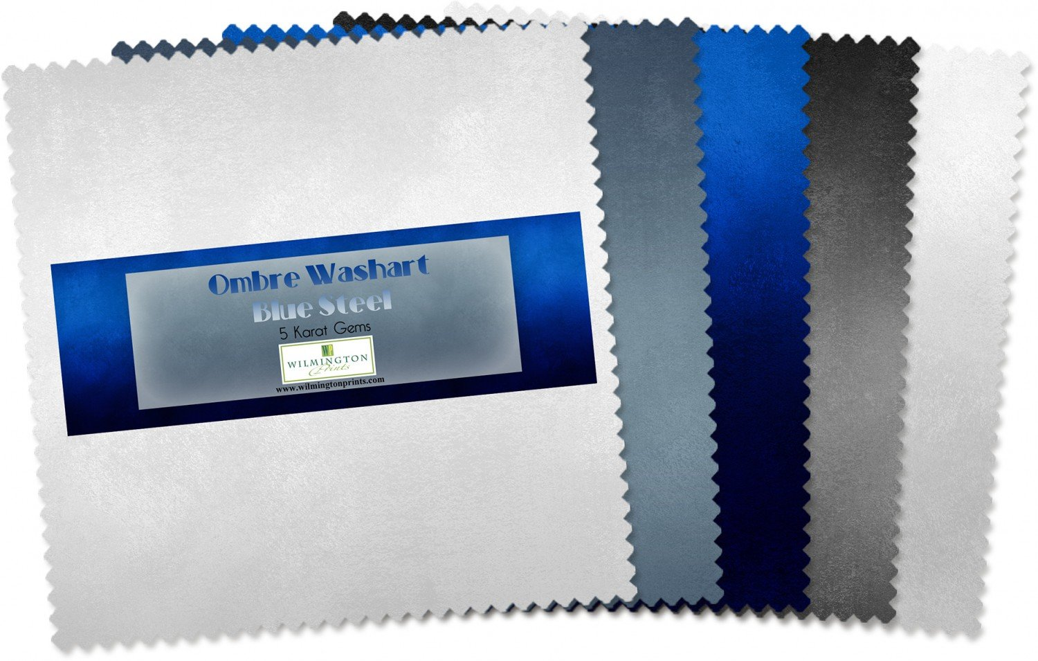 Essn Ombre Washart Blue Steel 42-5x 5 Squares