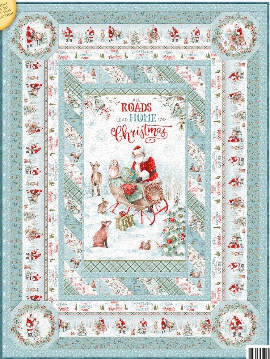 A Magical Christmas Throw Kit