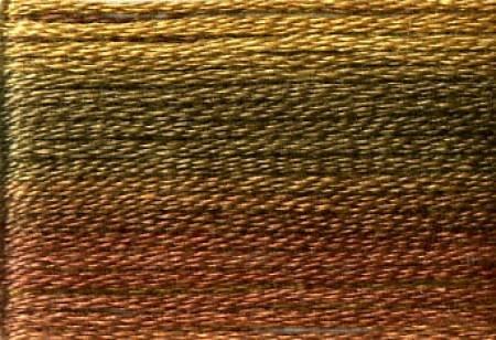 Cosmo Seasons Variegated Embroidery Floss - Dark Browns
