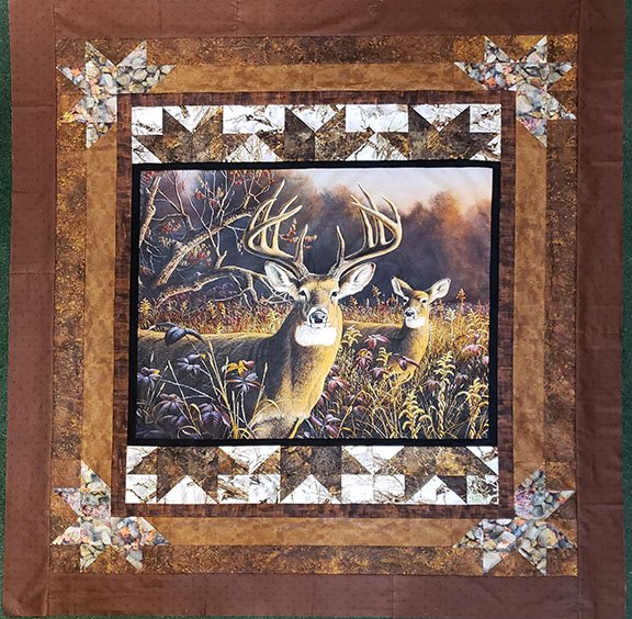 Star of The Show - Deer in the Grasslands Kit with Pattern