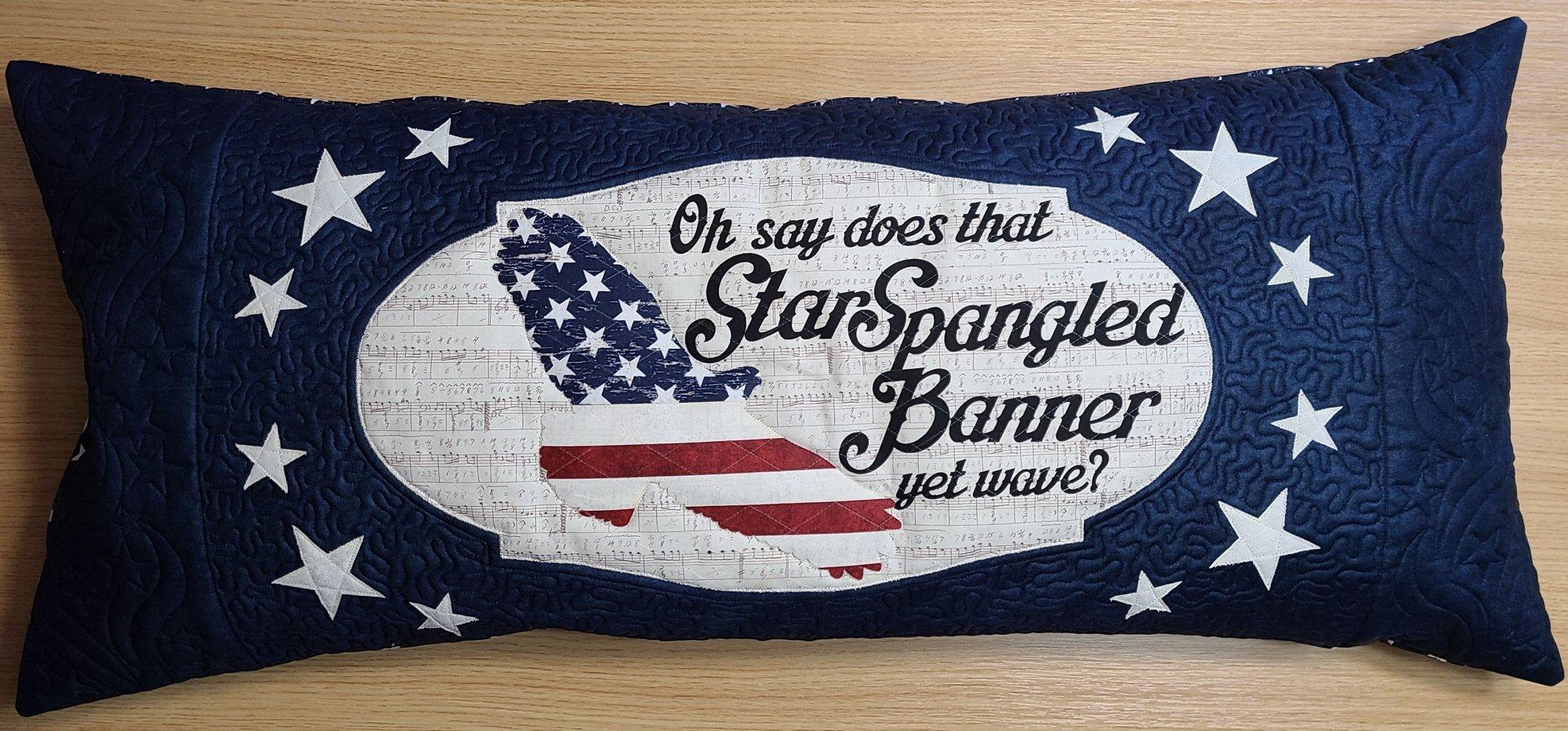 Bench Pillow Kit - Star Spangled Banner