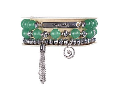 Soul Stacks Bracelet - Gratitude with Aventurine