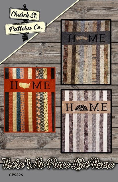 There's No Place Like Home - 3 Ways Pattern