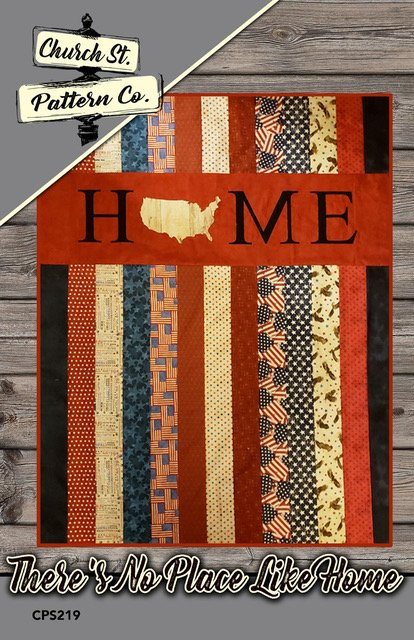 There's No Place Like Home Appliques with Free Pattern