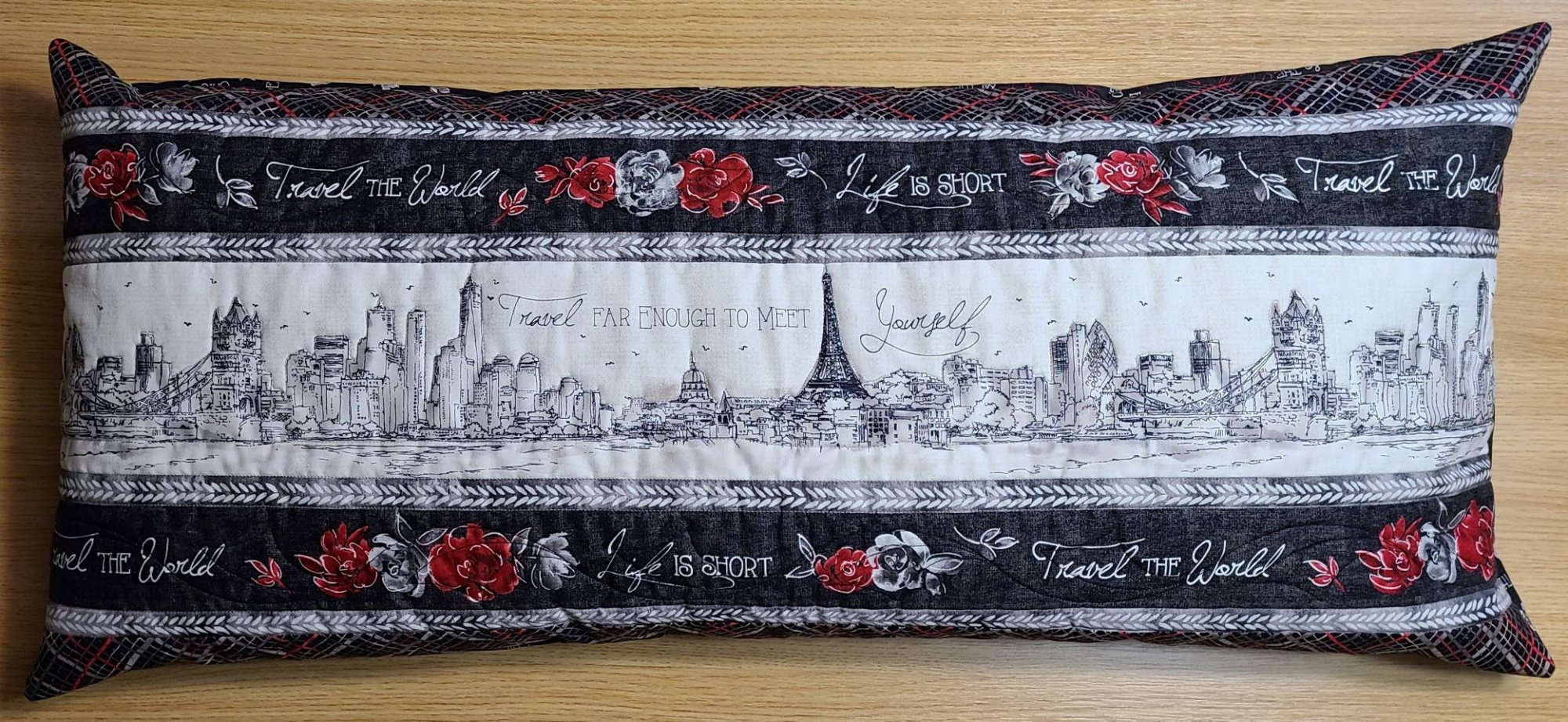 Bench Pillow Kit - Travel the World