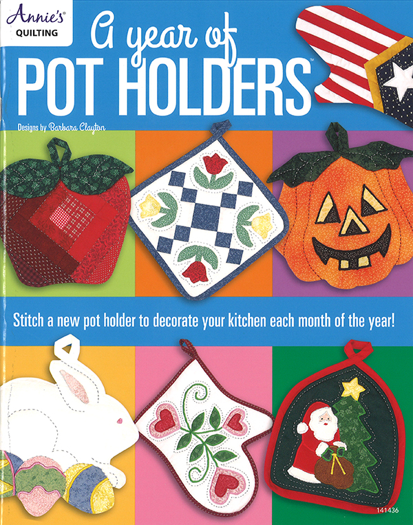 A Year of Pot Holders Book