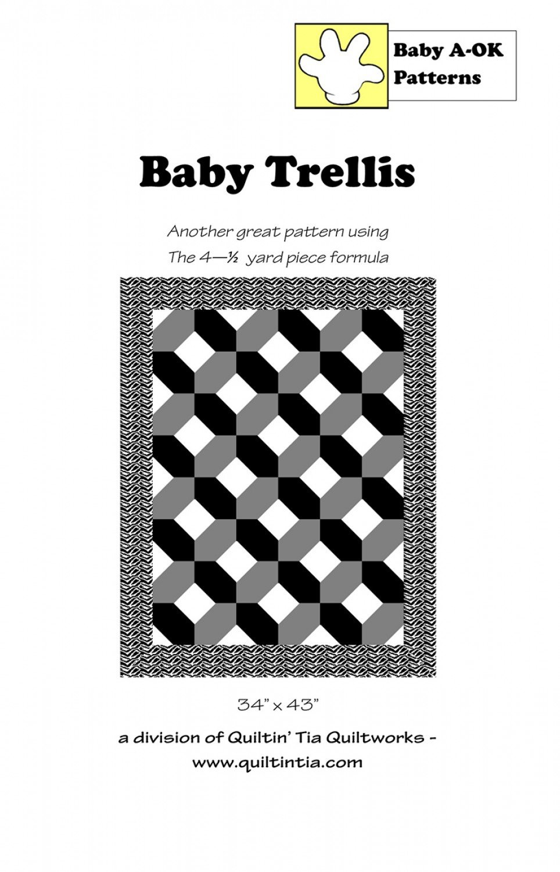 Baby Trellis Baby A-OK Pattern