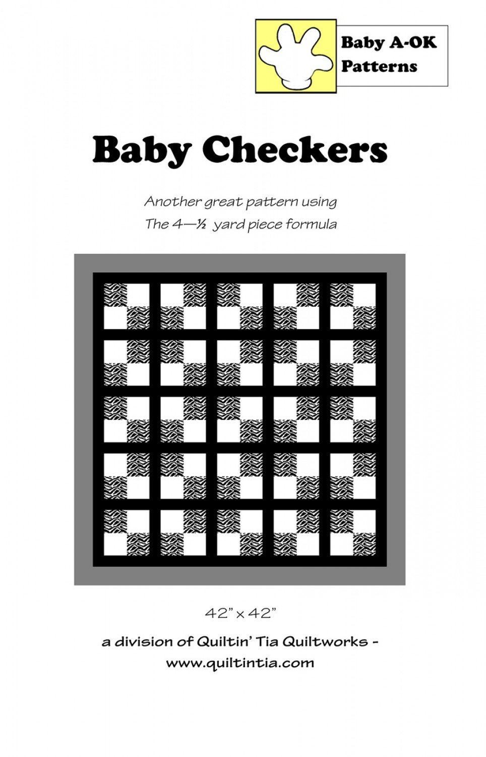 Baby Checkers Baby A-OK Pattern