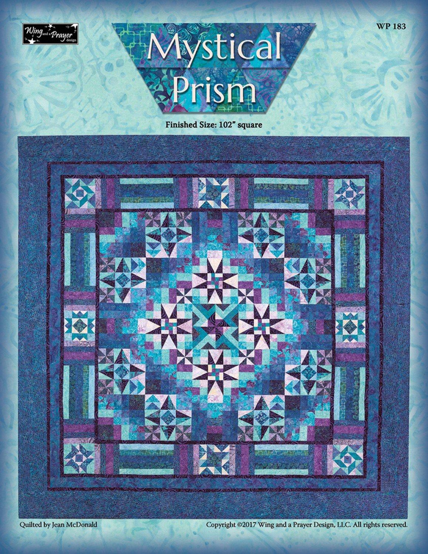 Mystical Prism Quilt Kit 102x102