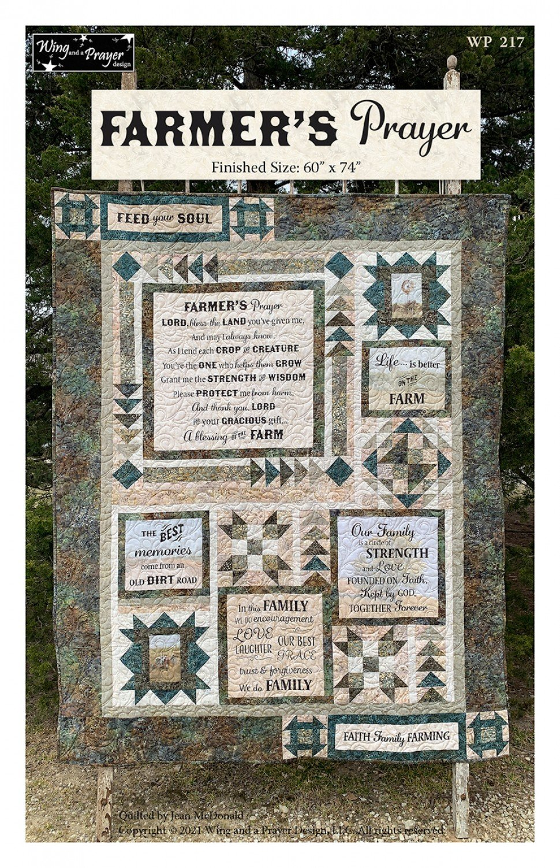 *PreOrder* Farmer's Prayer Pattern