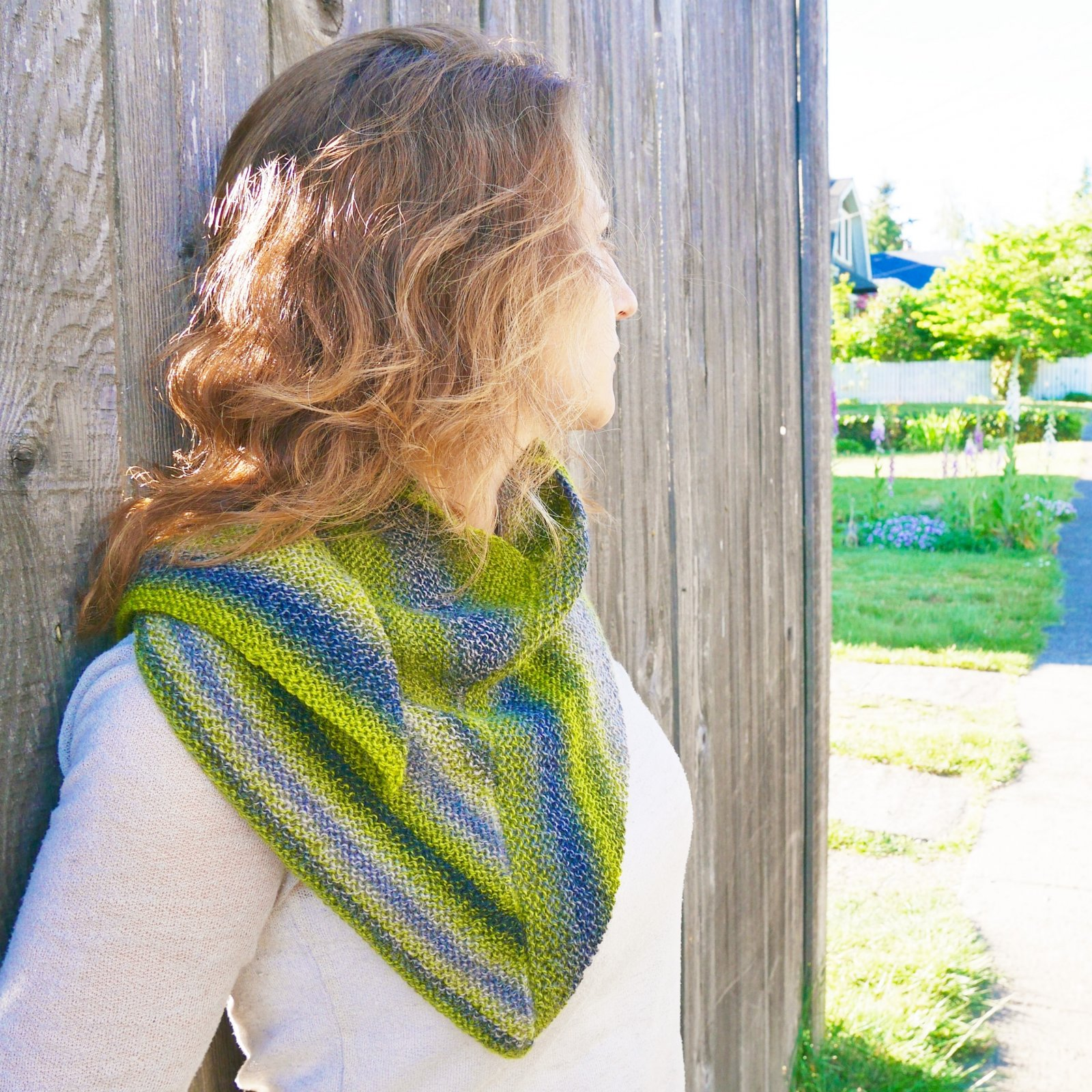 Wacky Wings Shawl - PDF Download