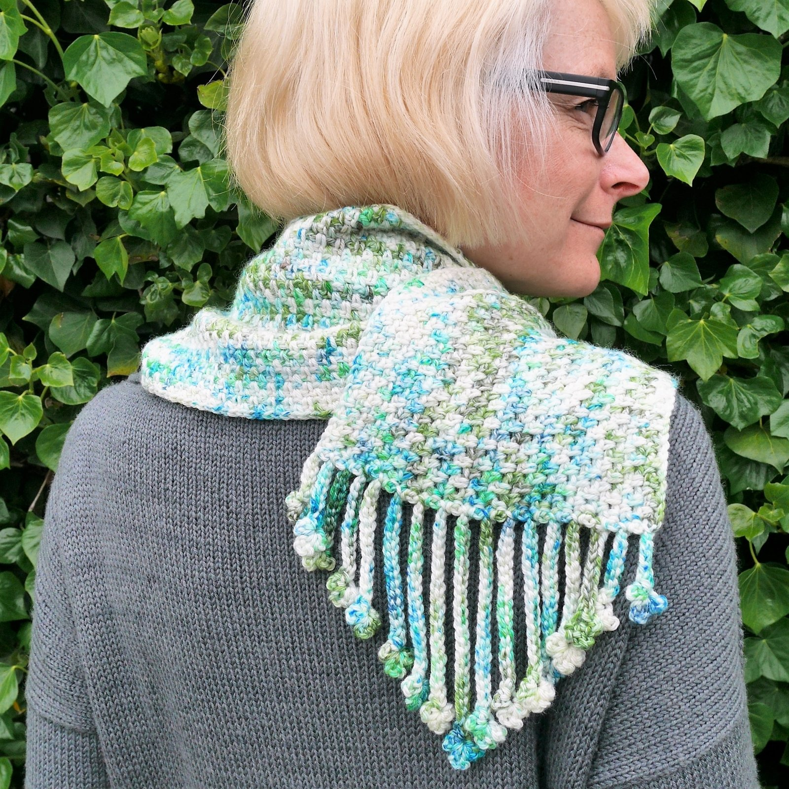 Shamrock Scarf - PDF Download