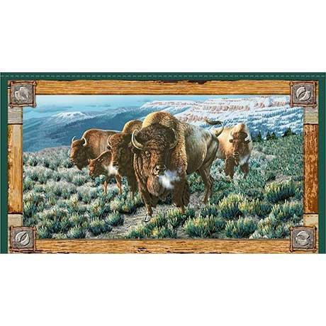 Where the Buffalo Roam 24 panel *