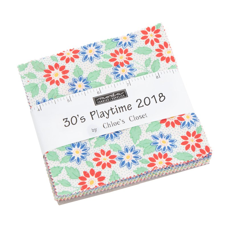 30s Playtime 2018 Charm Squares