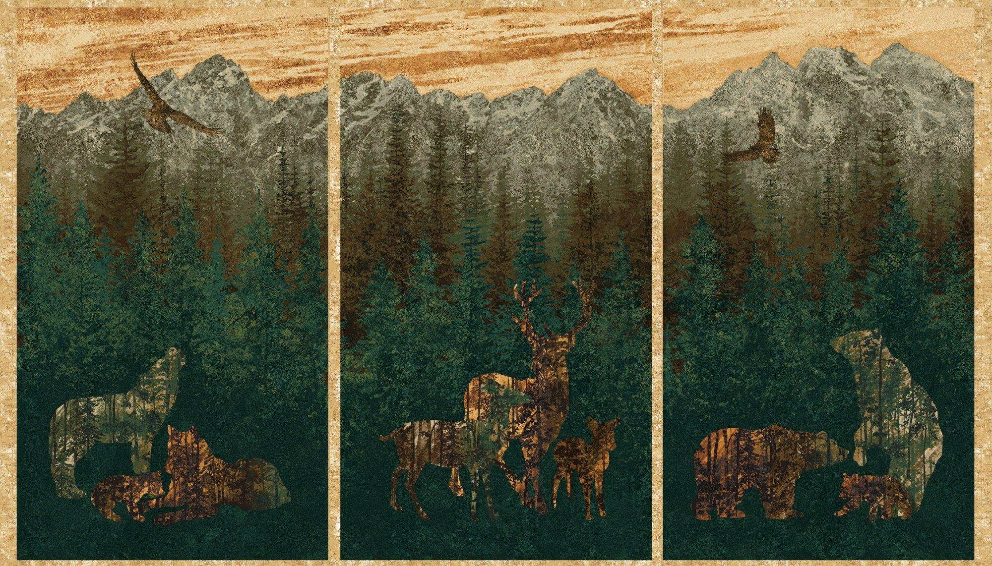 Aspen Ridge PANEL 3 scenes *
