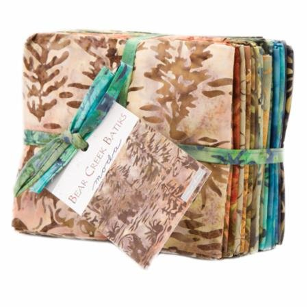 Bear Creek Batiks-20 ft qtrs bundle