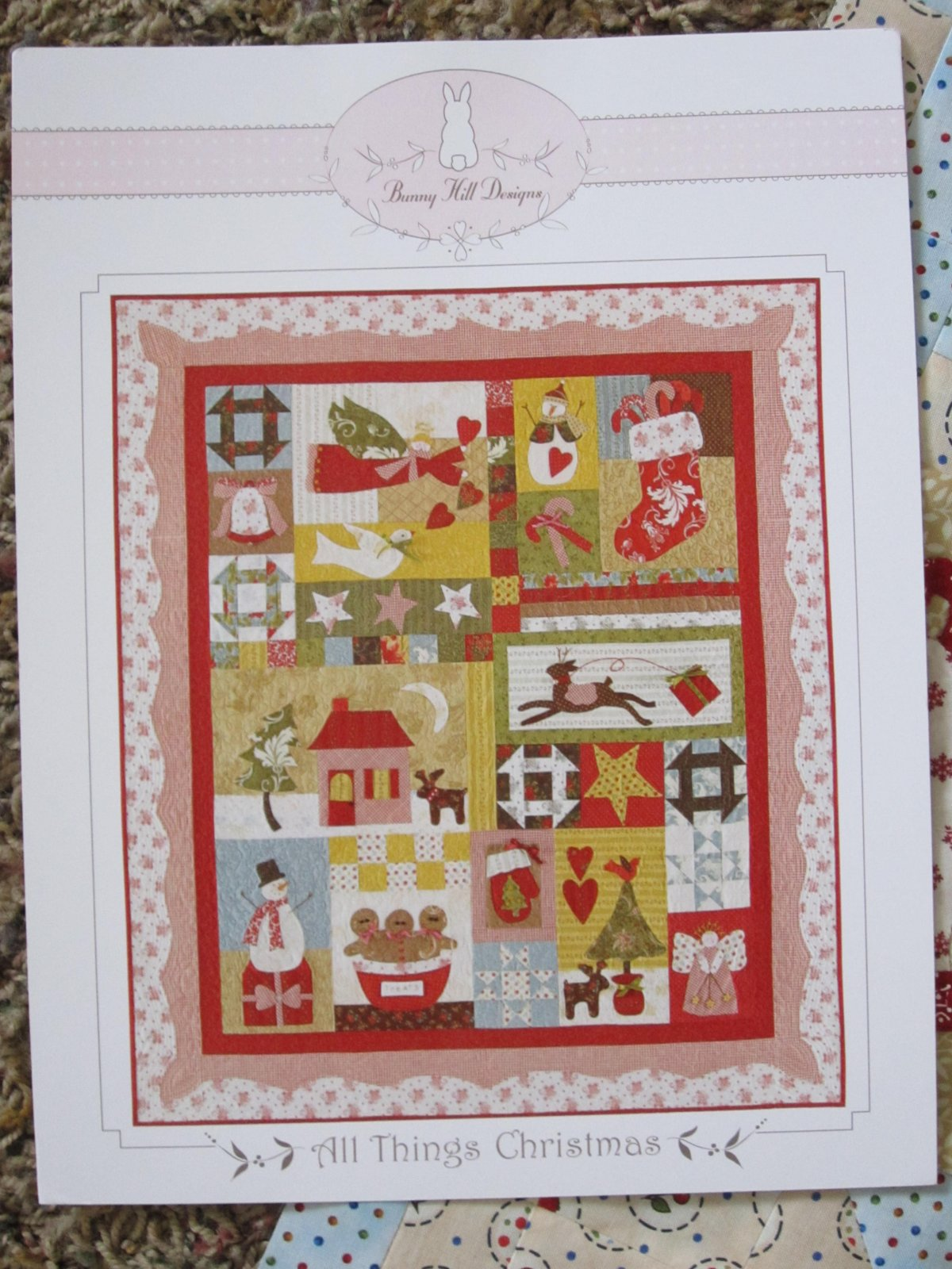 All Things Christmas pattern