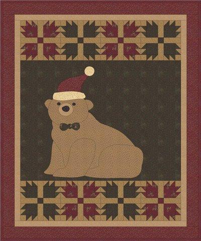 Beary Christmas pattern