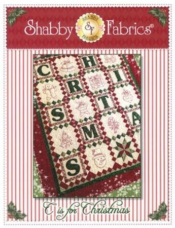 C is for Christmas pattern