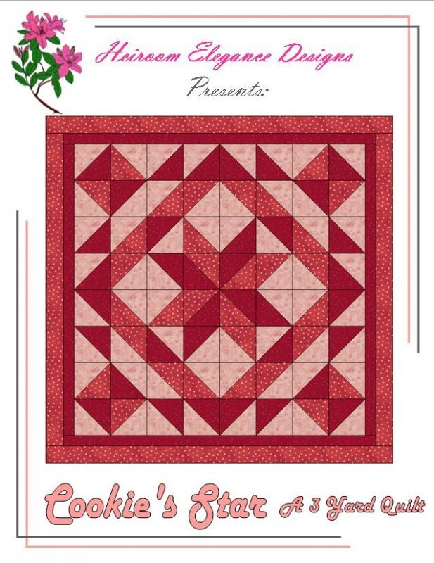 Cookie's Star - a 3 yard quilt pattern