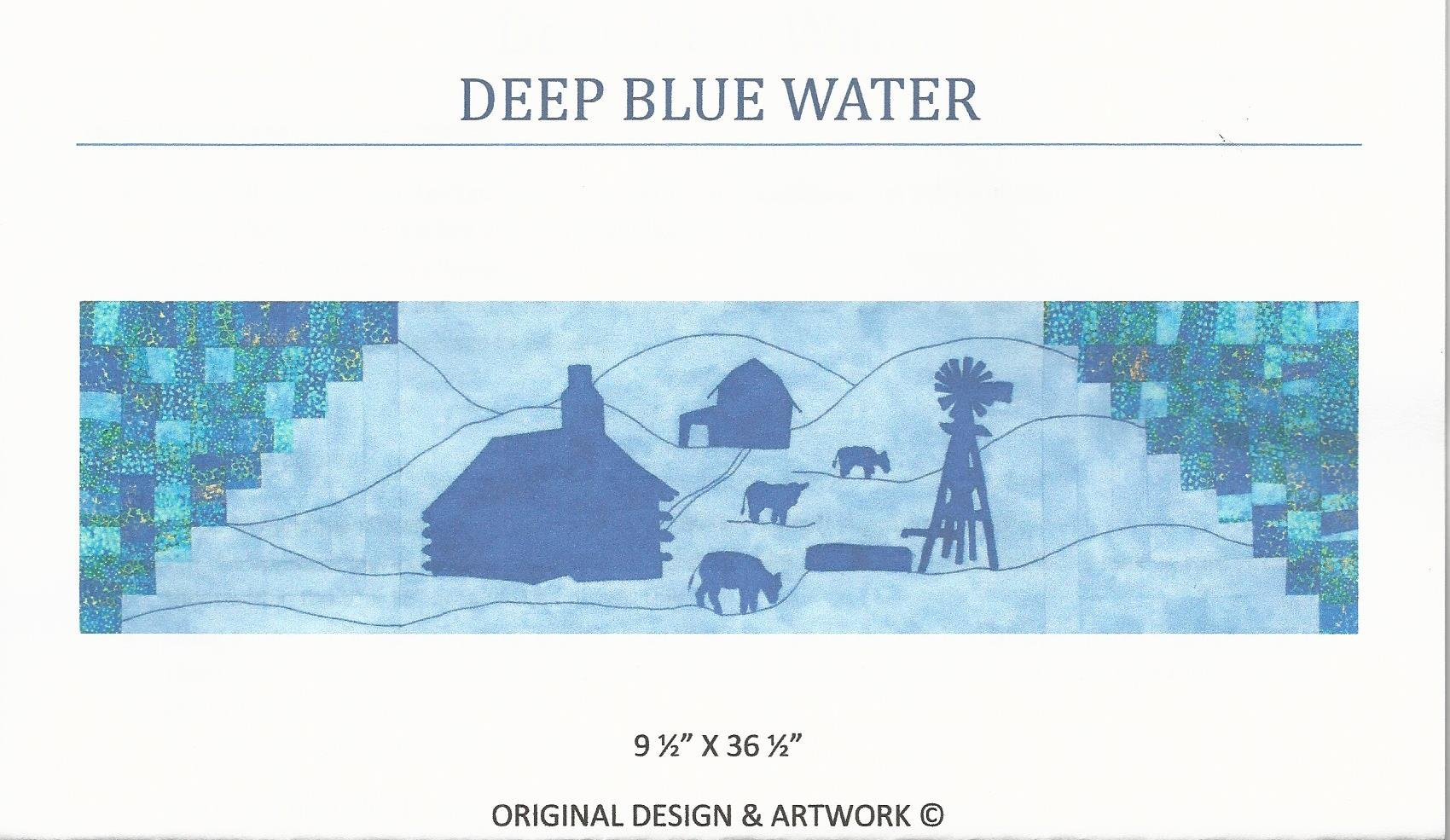Deep Blue Water - 2015 pattern