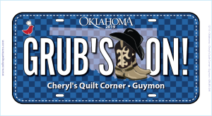 Grub's On 2019 License Plate