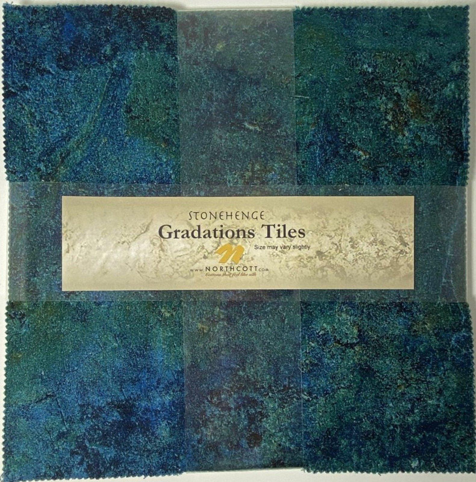 Gradation Tiles - Oxidized Copper *