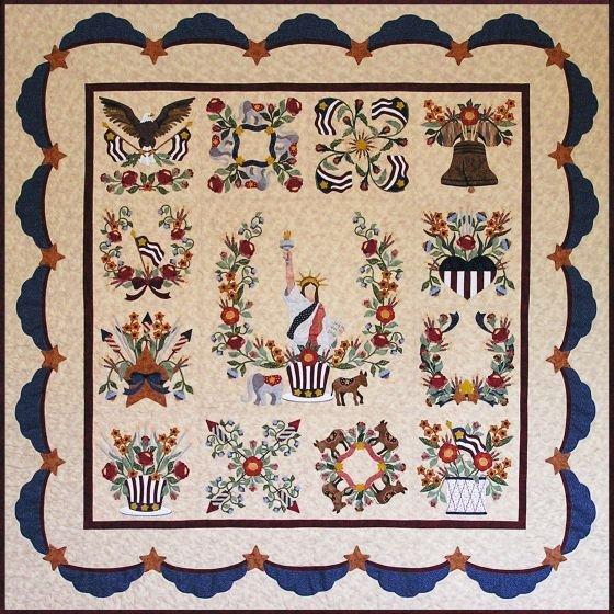 Baltimore Liberty pattern-set of 14
