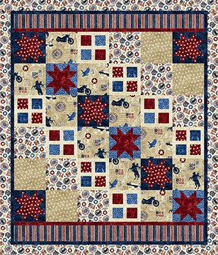 American Vintage - Window to the Stars pattern