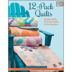 12 Pack Quilts - Book