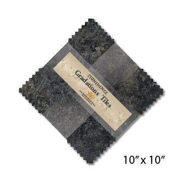 Gradation Tiles - Graphite - 10 x 10 *