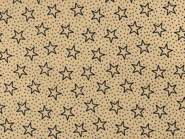 108 wide backing tan with blue stars