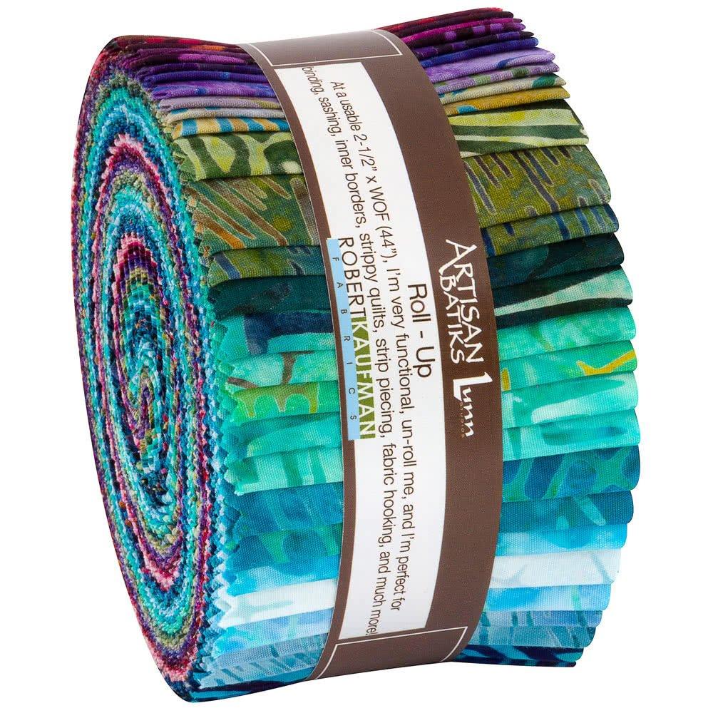 Artful Earth Batik Jelly Roll