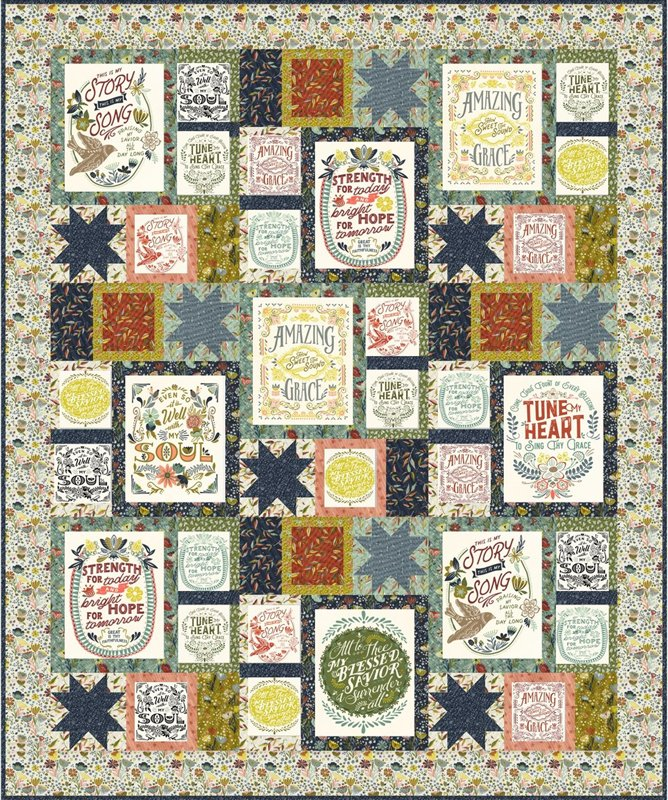 Guiding Stars Kit feat. Songbook Fabric 73 x 88
