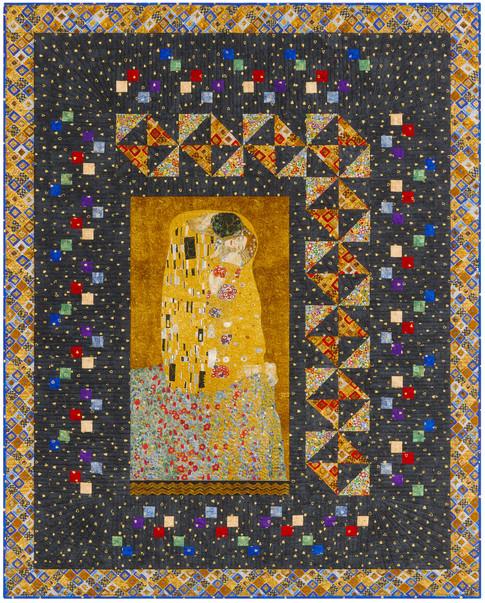Gustav Klimt The Kiss Quilt Kit