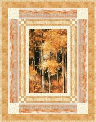 Sound of the Woods Quilt Kit Woodland Sanctuary