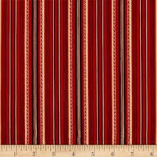 Arbor Stripe Red  (Stone Cottage)