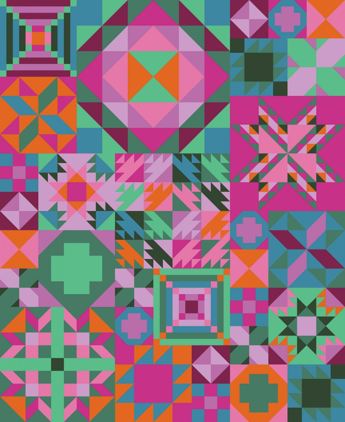 Tropical Getaway Colorway - My Favorite Color is Moda