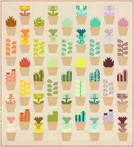 Terrarium Greenhouse Quilt Kit