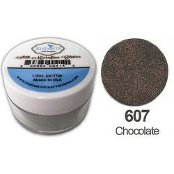 SILK MICROFINE GLITTER - CHOCOLATE
