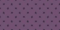 Candy Corn Purple Star