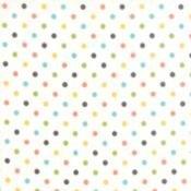 Prairie Polka Dot on White
